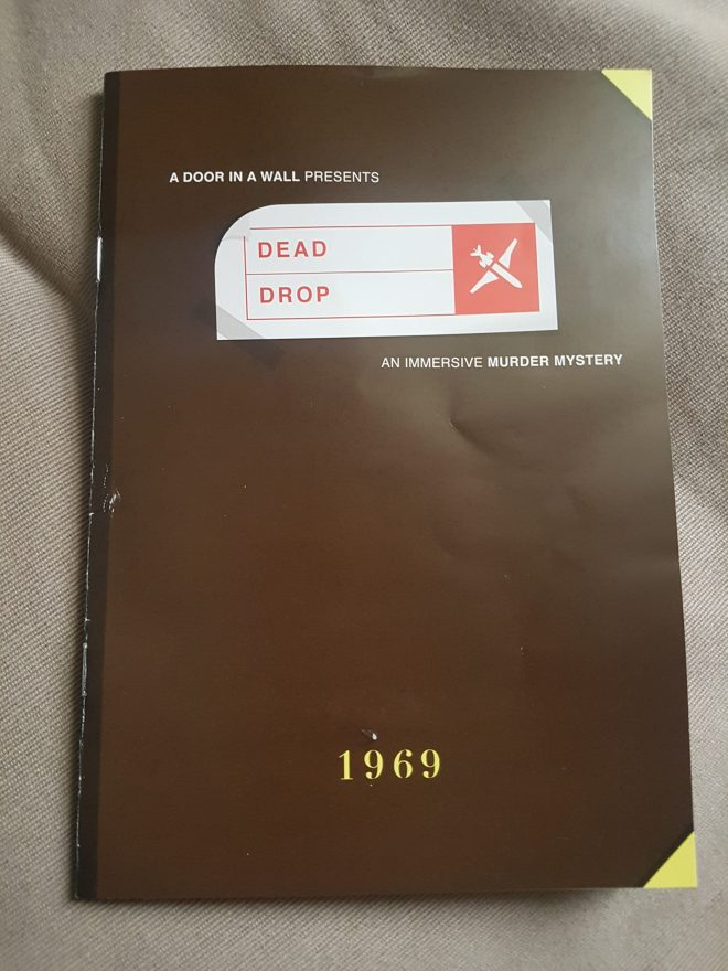 Dead Drop booklet