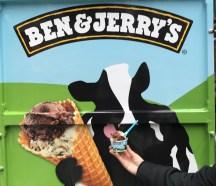 Ben & Jerry's van