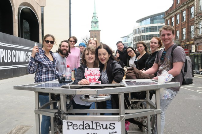 PediBus London Love Pop Ups London gang