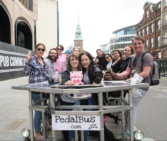 PediBus London Love Pop Ups London gang