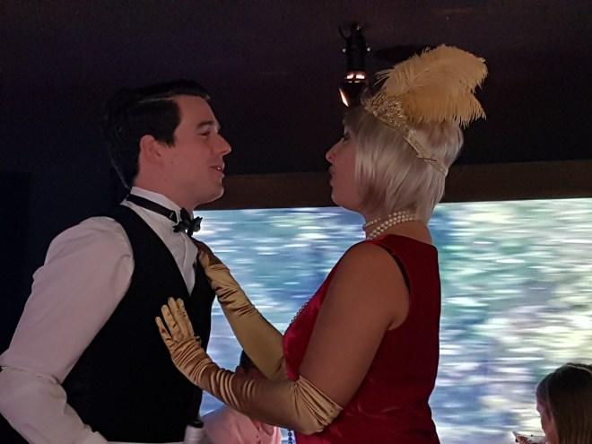 Murder Express Tilly and Waiter