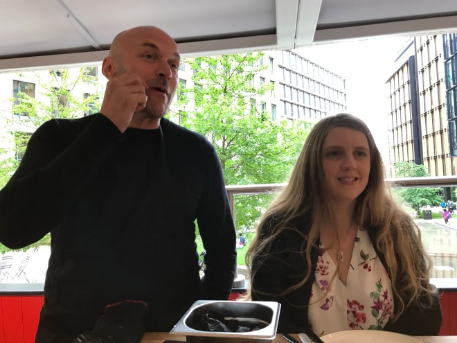 Weber Pulse pop up Simon Rimmer and me