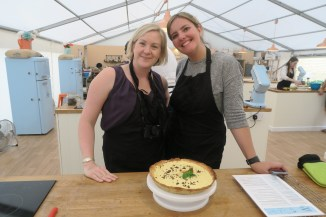 The Big London Bake Chelsea and Katie