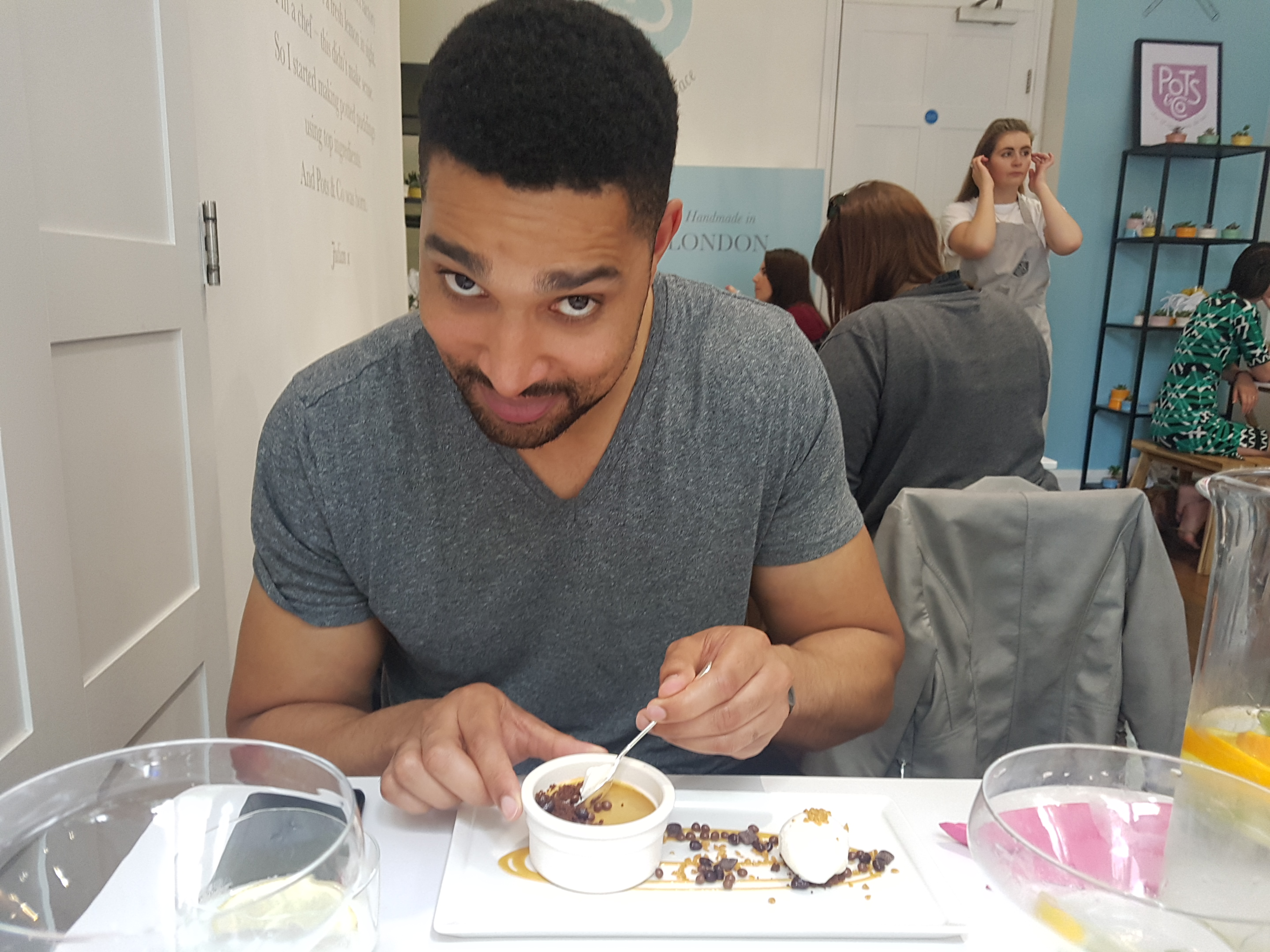 The Pudding Kitchen Pots & Co Marcus eat