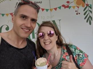 Taste of London 2018 Steve and Joanne