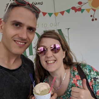 Taste of London 2018 Steve and Joanne