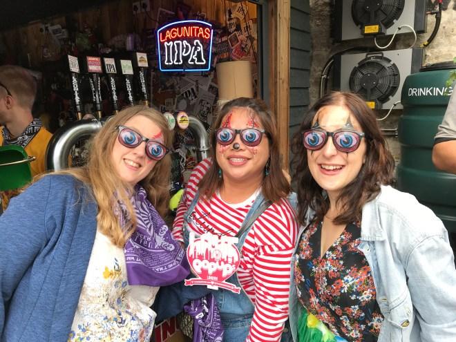 Lagunitas Beer me, Joice and Livi