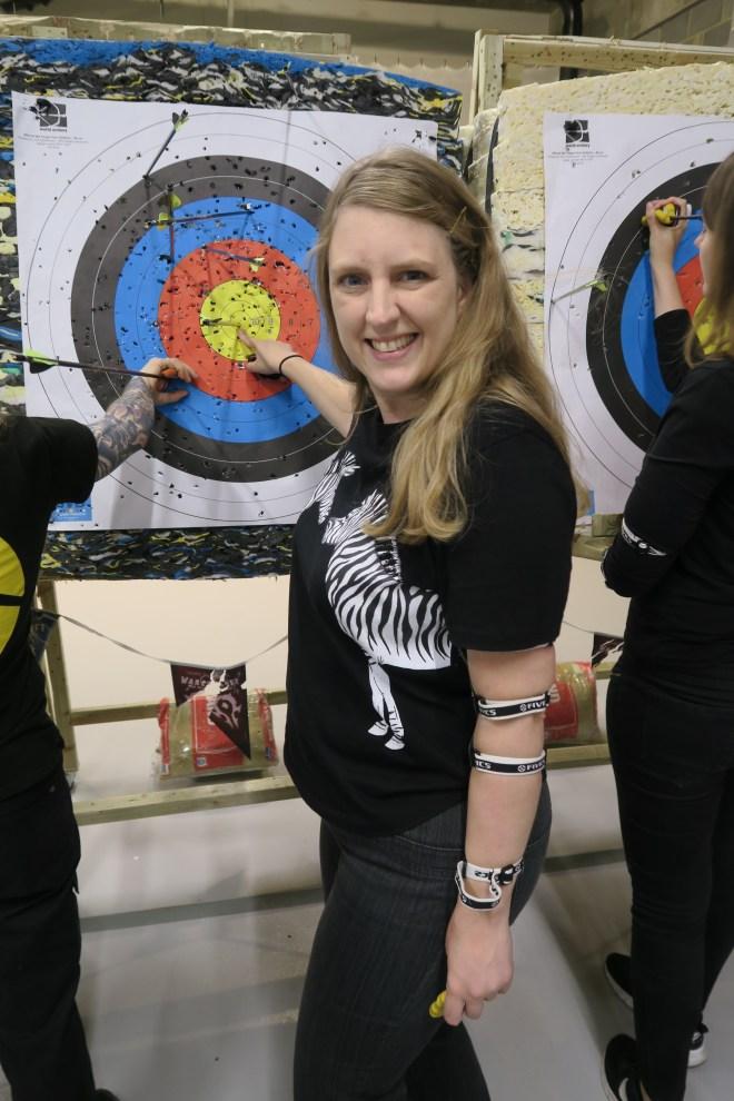 ArcheryFit me bullseye