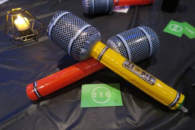 Bollywood Brunch microphone