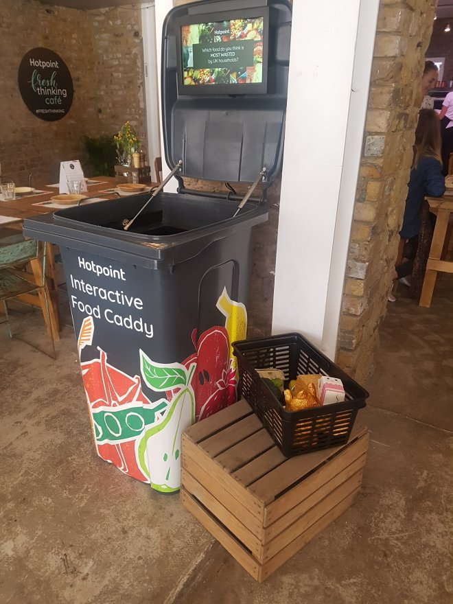 Hotpoint fresh thinking cafe bin