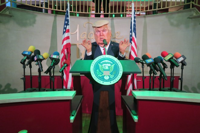 Madame Tussauds Trump