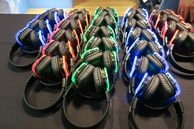 Madame Tussauds headphones