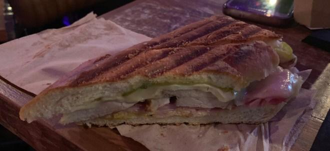 Last Nights of Havana sandwich