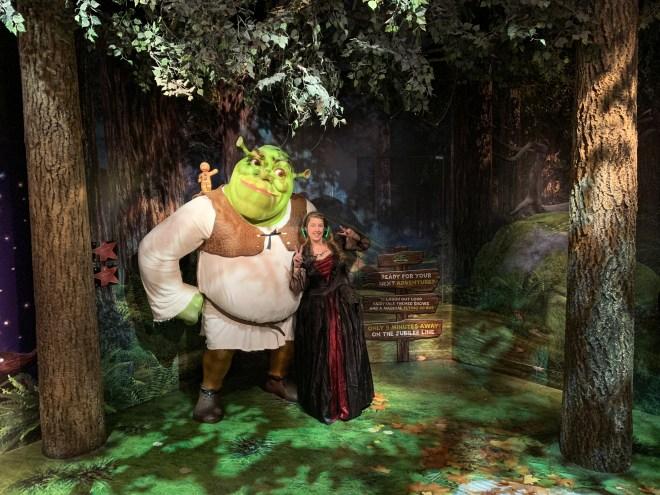 Madame Tussauds Shrek