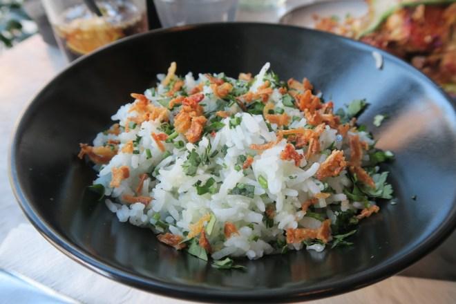 Rojak - food blue rice
