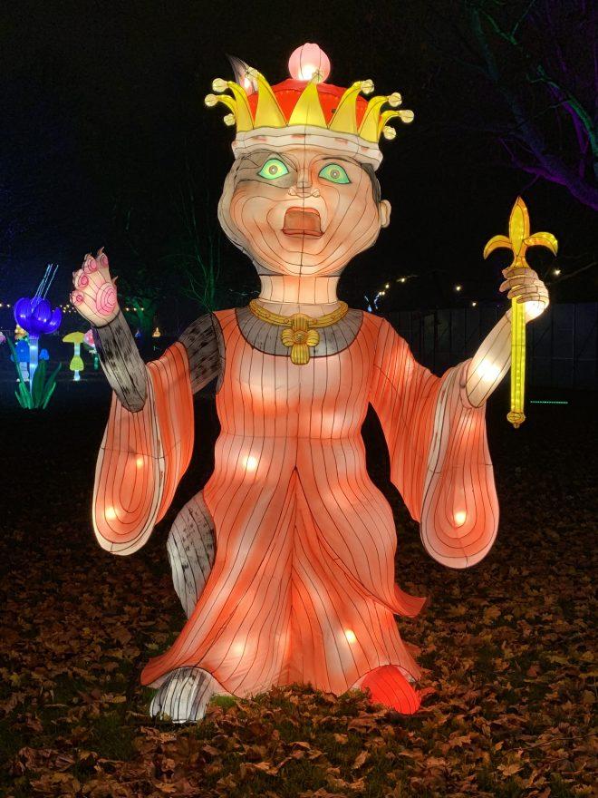 Alice in Winterland Queen of Hearts