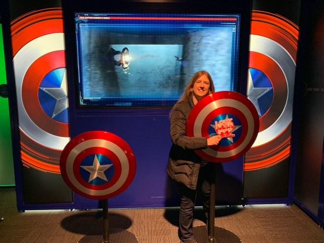 Avengers Station Captain America I am Captain America