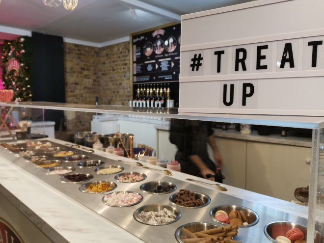 Baileys Treat Bar #TreatUp