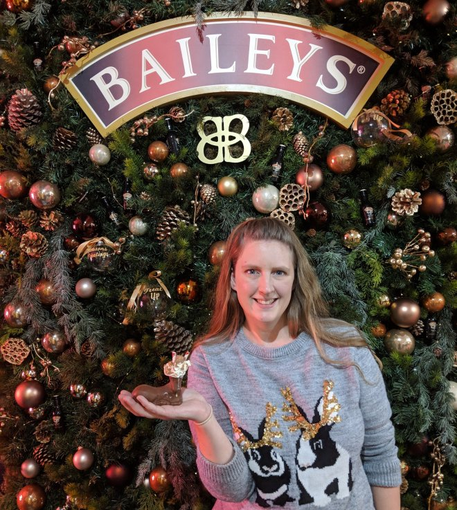 Baileys Treat Bar me and reindeer