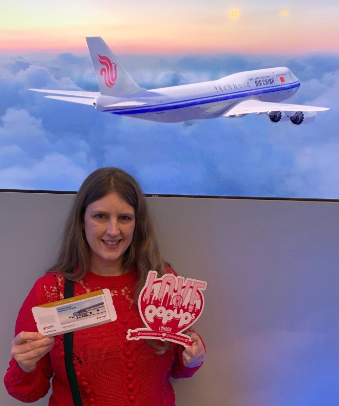 Air China Land of Luck - plane