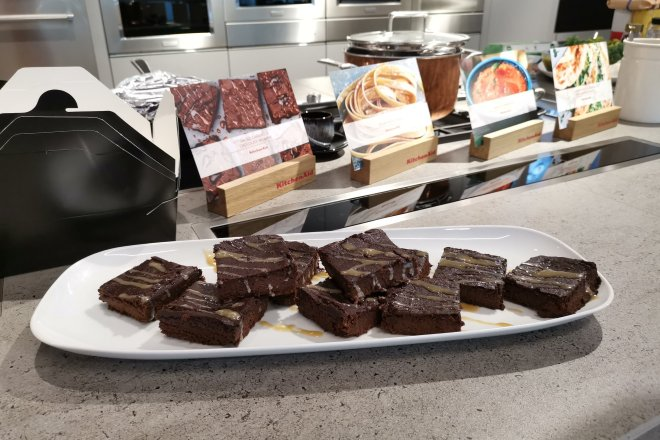 Kitchenaid brownies