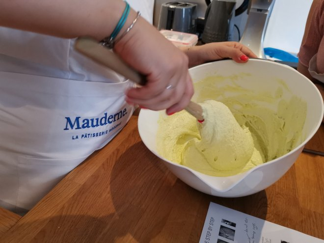 Mauderne Baking Class mixture