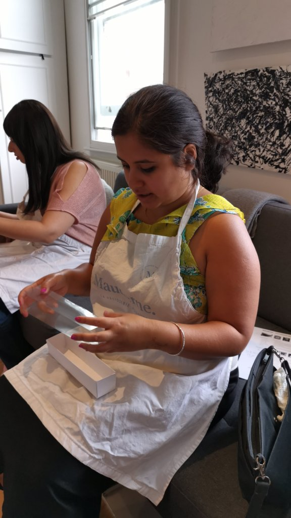 Mauderne Baking Class Geeta making box