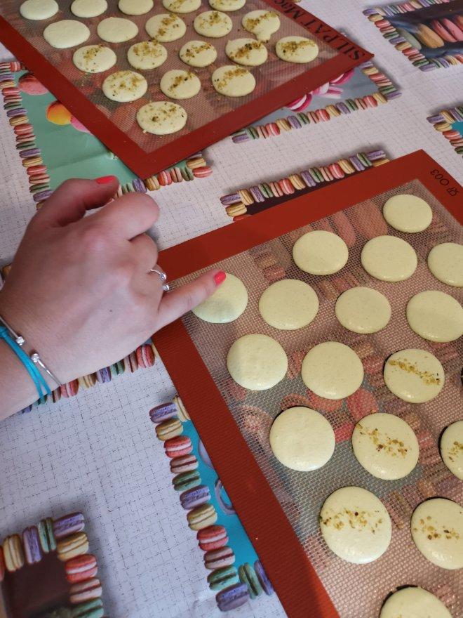 Mauderne Baking Class macarons