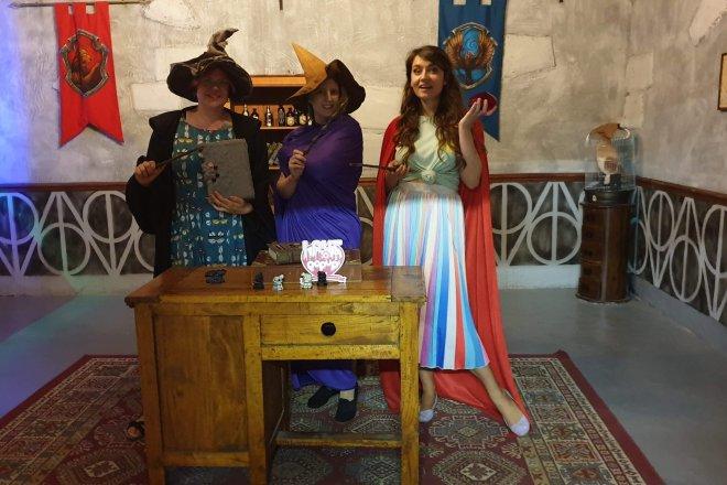 London Escaped School of Magic us