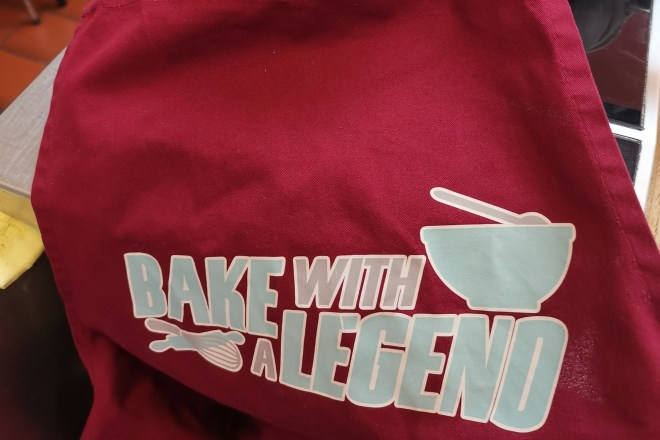 Bake With A Legend