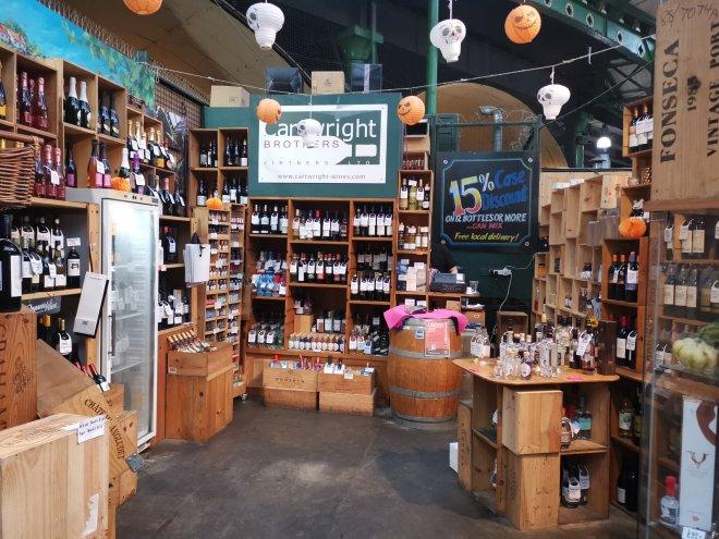 Mimo Borough Market wine Cartwright