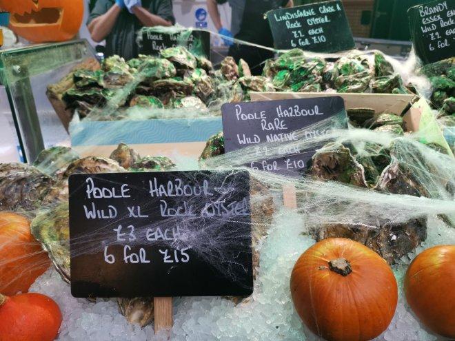 Mimo Borough Market fish