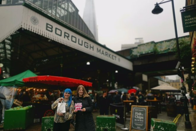 Mimo Borough Market me and Haydy