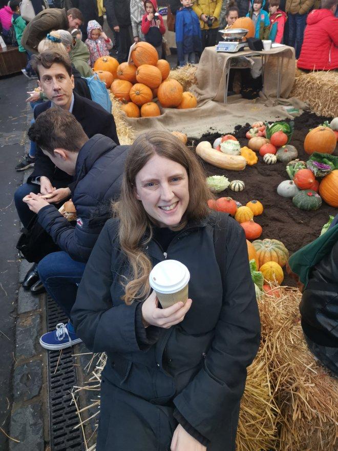 Mimo Borough Market pumpkins and me