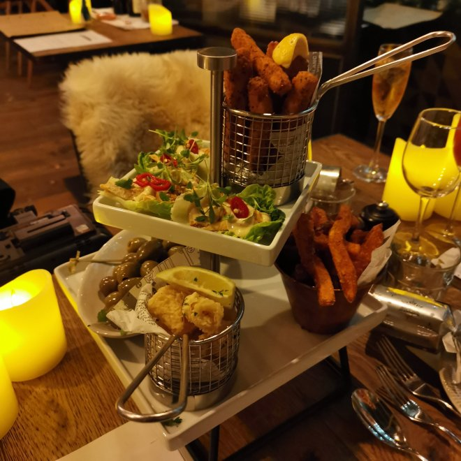The Kitchen London Hilton Tower Bridge nibbles