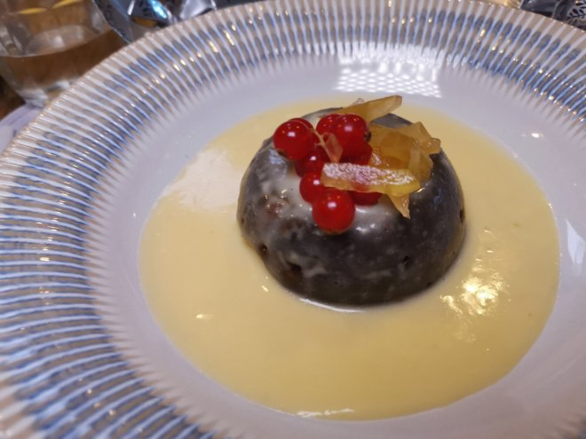 The Kitchen London Hilton Tower Bridge pudding
