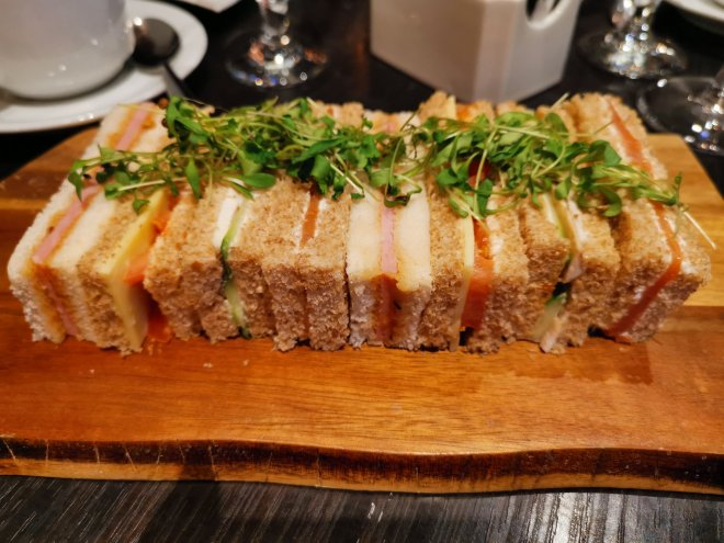 DoubleTree Hilton sandwiches