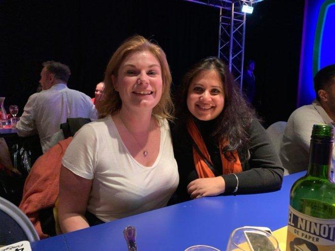 Gingerline TV Dinners Shona and Geeta