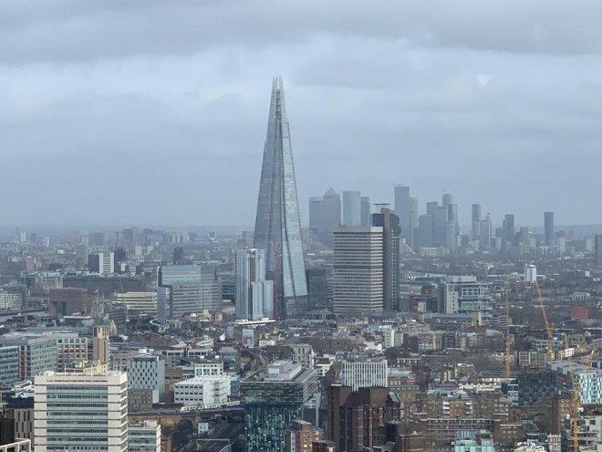 London Eye view Shard