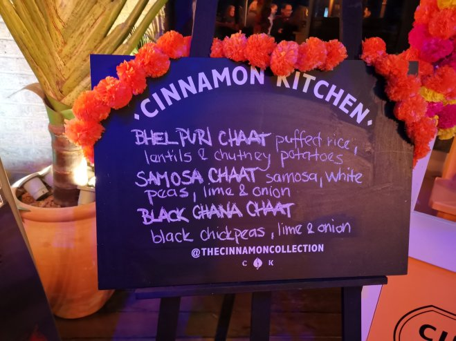 Cinnamon Kitchen Holi Menu