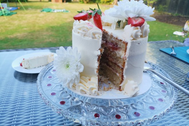 Bake Works cake