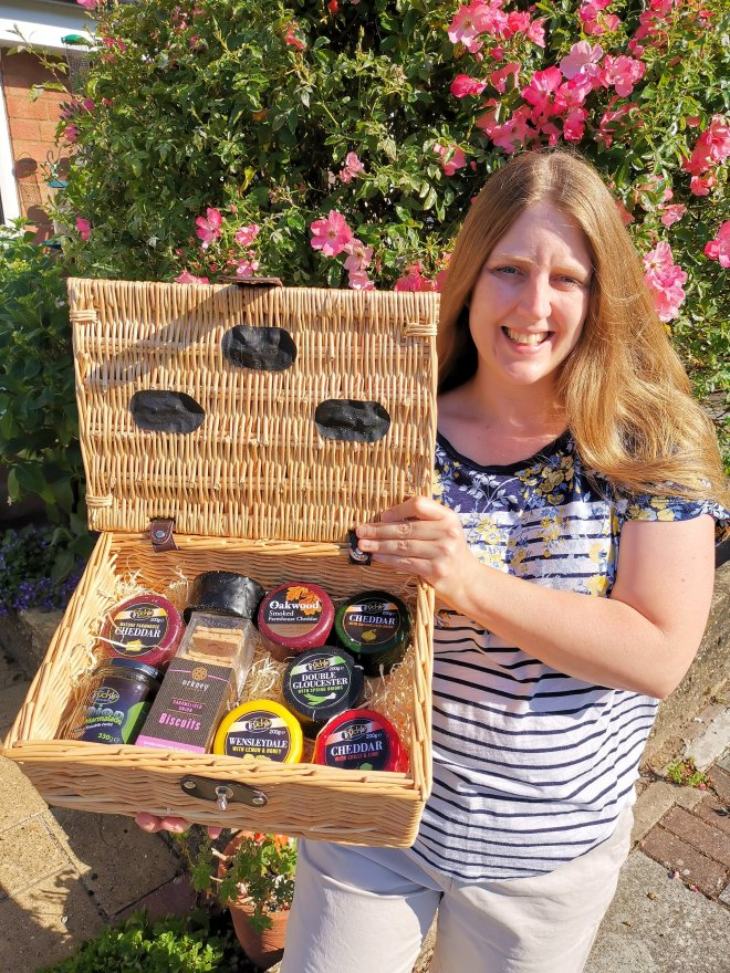 Truckle Cheese hamper