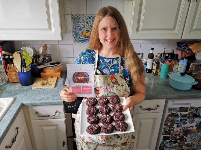 BakesterBox baking cookies my result