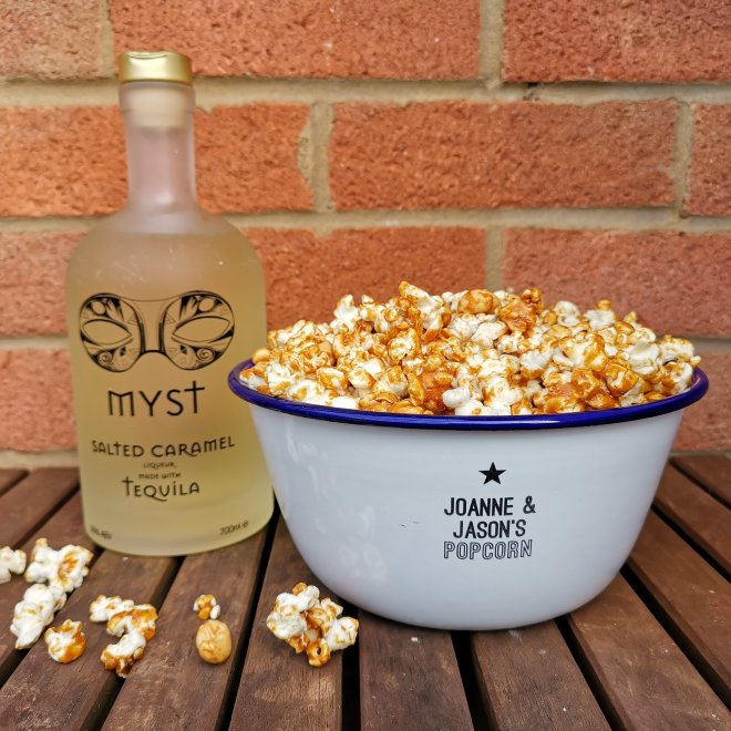 Myst Salted Caramel Tequila Popcorn