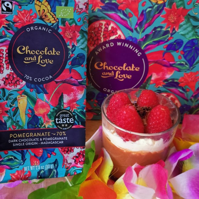 Chocolate and Love Pomegranate