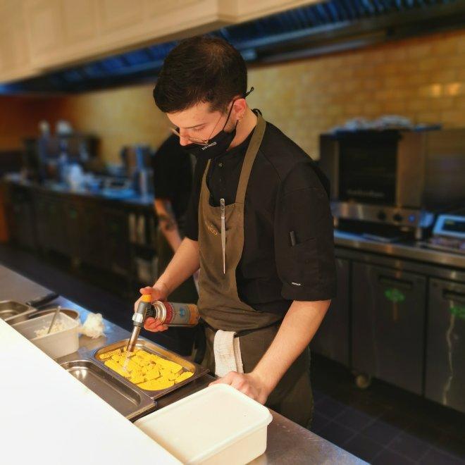 Six by Nico chef