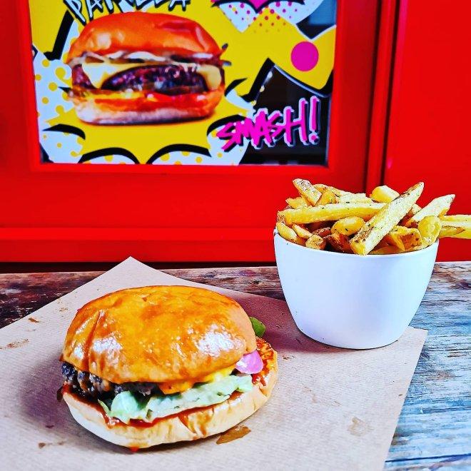 Patty & Burger Smash