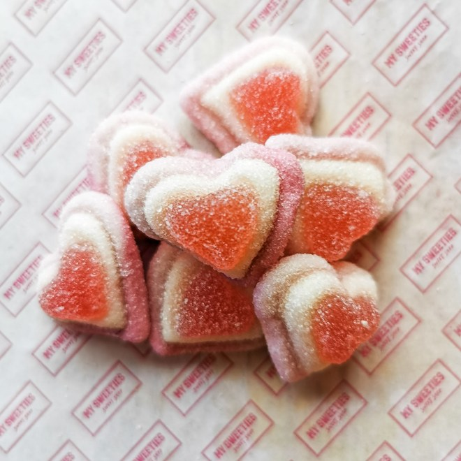 My Sweeties Sweet Shop box - Sugary Hearts