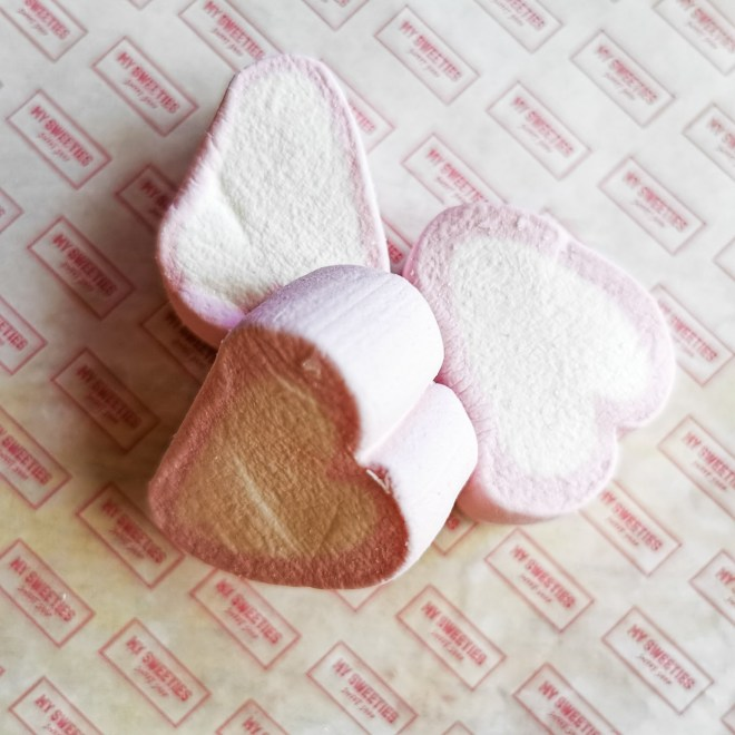 My Sweeties Sweet Shop box - Marshmallow hearts