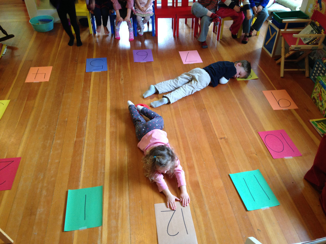 Making A Human Body Clock Telling Time